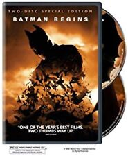 Batman Begins (Two-Disc Deluxe Edition) Fantastic Emotional New Sealed