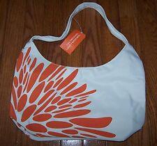 Lean Cuisine Insulated Lunch Bag WHITE/ORANGE ~ NWT