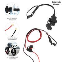 12V Waterproof Motorbike Motorcycle USB Charger Mobile Power Socket Adapter AU