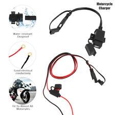 12V MOTO IMPERMEABILE SAE USB TELEFONO GPS CAVO DI RICARICA ADATTATORE INTERNO.