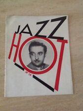 Jazz hot N°19 Revue Du Hot Jazz Club De France Janvier 1948