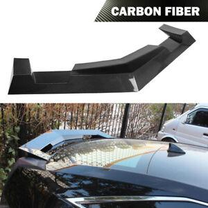 Fit Cadillac CTS Coupe 2011-2014 Rear Trunk Spoiler Wing Lip Carbon Fiber Refit