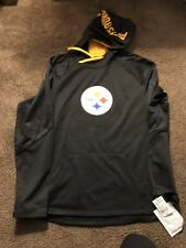 Pittsburgh Steelers Fanatics Pullover Black Hoodie Size 2XL  New With Tags $70