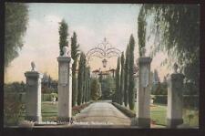 Postcard Redlands Ca Sterling Home Entrance 1907?