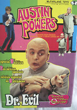 Austin Powers 1999 edición especial de 9 Pulgadas Dr Evil Con Tirar Cuerda de sonido/Raro