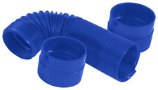"""3"""" Blue Duct Hose Air Intake System Kit 28"""" With boots Flexible Memory 8746"""
