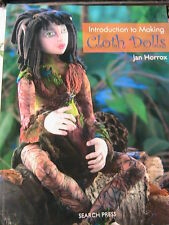 INTRODUCTION TO MAKING CLOTH DOLLS~Jan Horrox~complete cloth art doll patterns++