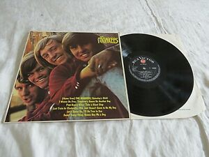 THE MONKEES-same '66 UK MONO RCA LP ORIG. U.S PSYCH POP BAND. DEBUT