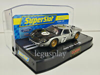 Slot Car Scalextric Superslot H2917 Ford GT40 MKII 1966 24H. Le Mans #7
