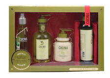 Cucina 4 pcs Deluxe Body Care Set holiday gift set 2017 Coriander and olive tree