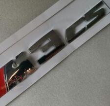 ///M M3CS Letter Badge Emblem Adhesive Sticker TRUNK For BMW M3 CS