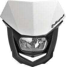 Polisport 8657400001 Halo Headlight White