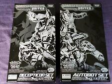 E Hobby Transformers Unidos sutobot y Decepticon Set