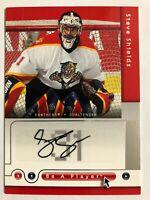 2005-06 Be A Player Signatures Autograph Steve Shields Auto #Si