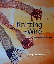 Book KNITTING WITH WIRE Project Design Bead Jewelry Illustrated Guide Patterns