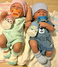 """Baby Twins Reborn Doll Berenguer 14"""" PREEMIE  Vinyl Preemie Life like BOY/ GIRL"""