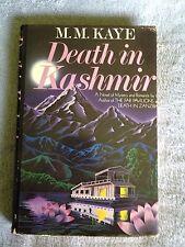 Death in Kashmir / M.M. Kaye - Hardback Book w/ Dust Jacket- 1984-1st US Edition