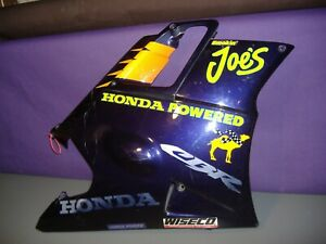 Honda CBR600F2 RH lower cowl fairing 64301-MV9-670Z 1994 smokin joe. 64304-MV9-6