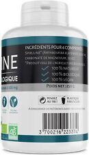 Spiruline Bio Vegan MADE IN FRANCE 500 MG 500 Comprimés Protéines Sante Cuisine