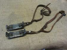 Vintage Cast Iron Ice Shoes Cleats > Old Antique Ice Fishing 8296