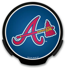 Atlanta Braves Light-Up Power Decal [NEW] MLB Car Auto Powerdecal Emblem CDG