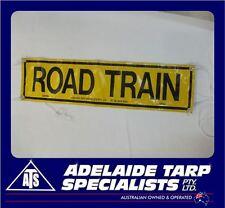 Retroreflective PVC Road Train Sign (GST Inclusive)