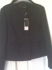 NEW WITH TAG LADIES TAILORED SMART NAVY BLUE SUITE JACKET SIZE 12