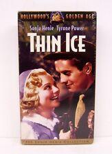 THIN ICE,  SONJA HENIE,  TYRONE POWER,   VERY RARE VHS,  BRAND NEW,  NOT ON DVD