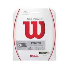 New Wilson Nxt Power 16 (1.30) Tennis String Set Natural Pack