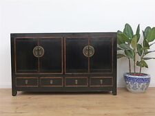 Antikes Sideboard chinesische Kommode Buffet TV Möbel Massivholz China Y012