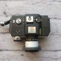 Minolta 110 Zoom SLR Film Camera 25-50mm F4.5 Macro Lens From Japan Tested