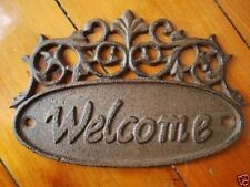 Cast Iron Garden Decorative Plaques & Signs