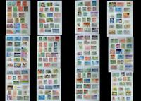 Stamp Collection From Australia & A Few From Papua, Free Shipping Worldwide