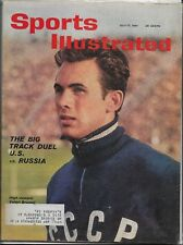 July 17, 1961 Edition Of Sports Illustrated U.S. vs. Russia Track Duel Cover