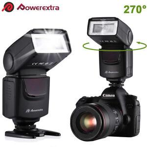 Slave Camera Flash Speedlite Light Wireless For Nikon Canon Sony Pentax DSLR Cam