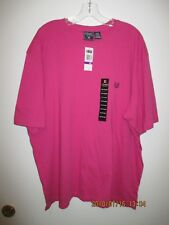 Men's Clothing Chaps Cotton Pink T Shirt Size XXL Casual New with Tags