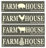 Joanie Stencil Farmhouse Pig Cow Chicken Pineapple Country Prim Kitchen DIY sign