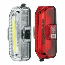Topeak Aero USB 1w Combo Bike Bicycle Cycling Front & Rear Light - Tms084