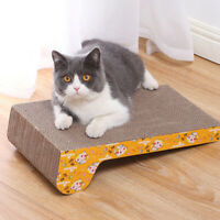 Pet Dog Cat Scratching Board Corrugated Pad Scratcher Bed Mat Claw Care Training