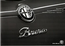 Alfa Romeo Brera Specification 2010-11 UK Market Brochure