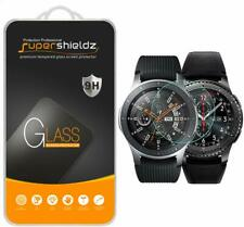 2 Pieces for Galaxy Watch Gear S3 Frontier 46mm Screen Protector Tempered Glass