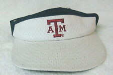 huge selection of 2858f 9848e NCAA Texas A M Aggies - New Era White Visor