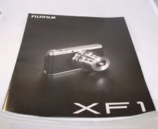 Fujifilm Camera XF1 Brochure/ Buklet (EN) guide 6201051