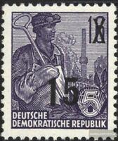 DDR 438 postfrisch 1954 Fünfjahresplan (III) (neuer Wertauf