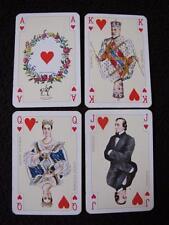 "VINTAGE 1980's PIATNIK PACK MINIATURE ""TUDOR ROSE"" PATIENCE PLAYING CARDS"