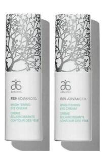 2 X ARBONNE RE9 Advanced Brightening Eye Cream 15ml New Boxed