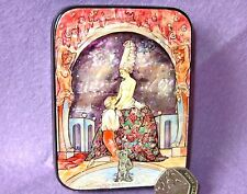 Russian LACQUER SHELL Box G.Barbier illustration Fêtes galantes Paul Verlaine