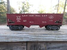 Vintage Lionel L.V. 25000 Lehigh Valley Burgundy Train Car