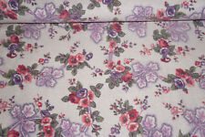 Chanteclair Floral Cotton Flannel Fabric Victorian Floral  BFab