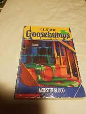 Goosebumps: Monster Blood No. 3 by R. L. Stine (1992, Paperback) Good cond.